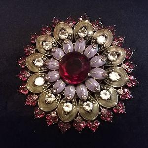 Avon jeweled brooch